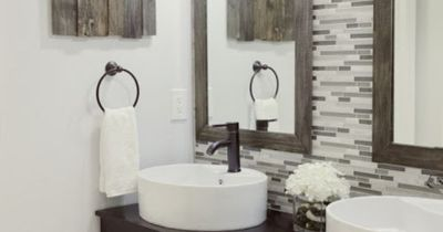 I love the wood on the wall ... how to affix