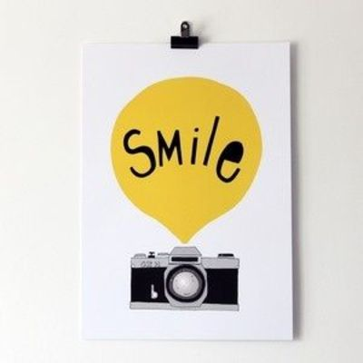 Seventytree has a great blog, website, shop and more. She also creates cute art prints.