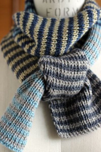 One by One, Two by Two Scarf Project