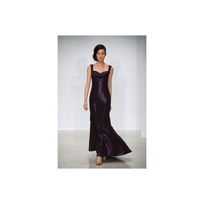 Simple A-line Straps Ruching Floor-length Taffeta Evening Dresses - Dressesular.com