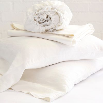 Cream Linen Sheet Sets $345.00