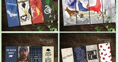 picture about Star Wars Bookmark Printable named Printable Fandom Bookmarks! Perfect Geek Present. Harry Potter, S