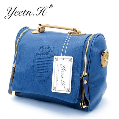 2017 New Arrival Pu Casual Women Solid Cover Women Messenger Bags Handbag Women's Bag Shoulder Bag $19.98