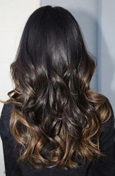 ombre caramel highlights for dark dark brown hair. Black Bedroom Furniture Sets. Home Design Ideas