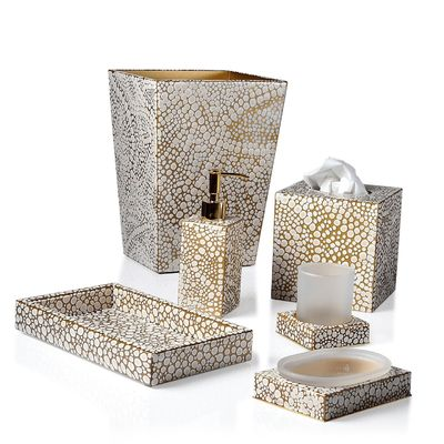 Proseco Bath Accessories by Mike + Ally $125.00