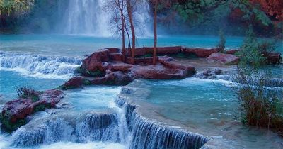 Havasu Falls is the most beautiful waterfall in the world. OK, so I have not seen all of them, but I challenge anyone to find one more beautiful. Please send me
