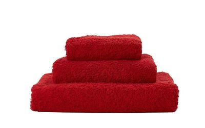 Super Pile Rouge Towels by Abyss and Habidecor $20.00