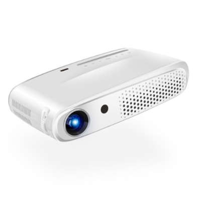 Rigal RD602 DLP Mini 3D Projector 600ANSI Lumens Android WiFi Projector Active Shutter 3D Full HD - white