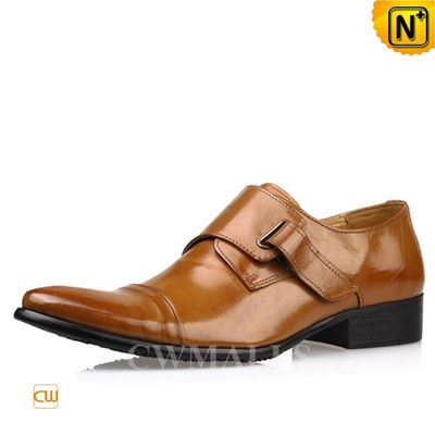 CWMALLS® Leather Single Strap Loafers CW716233