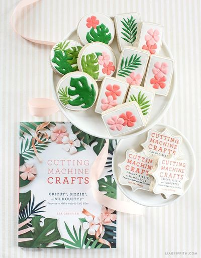 We're pleased to announce that our Cutting Machine Crafts book is on sale now! It contains 50 easy projects and 60 SVG cut files to beautify your life