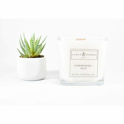 Lemongrass + Sage Classic Collection Candle $28.00