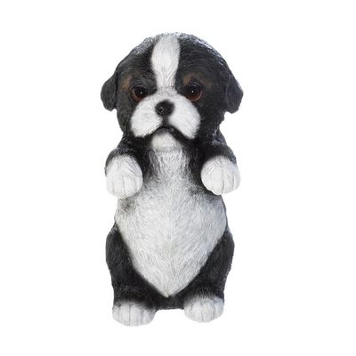 Climbing Black And White Puppy Decor by Decorshop $6.95