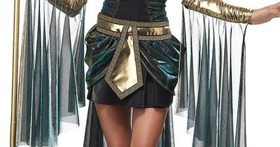 If I could pull this off.. or if my mom would let me Egyptian Goddess Costume, Egyptian Cleopatra Costume, Adult Egyptian Costume