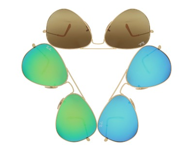 Mirrored sunglasses contain a mirrored coating on the lens surface make them appear like a colored mirror. They provide the better protection in intense sunglight compared to other shades, thus they are the first choice for outdoor athletes who exercise l...