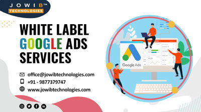 We at jowib Technologies help you to expand your digital marketing solutions by providing revenue-driven white label google ads services. As a digital marketing agency, we have attained results that have satisfied our clients. So, if you want to know more...