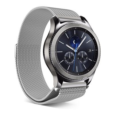 Steel Milanese mesh band for Samsung Gear S3 Classic & Frontier $39.99