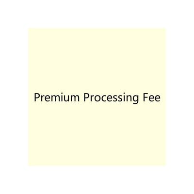 Premium Processing Fee - Simple Bridesmaid Dresses & Easy Wedding Dresses