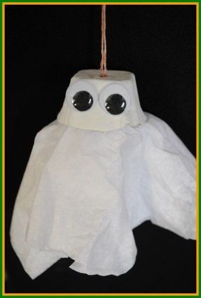 A fun and whimsical Halloween craft for kids to make to decorate