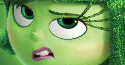 "Mashable presents Disgust, the second of five character posters for ""Inside Out."""
