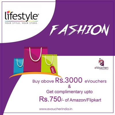 Buy LIFESTYLE Gift Cards Online & LIFESTYLE Gift Vouchers Online from India's leading gift online store. Give someone ultimate present by purchasing one of our LIFESTYLE Gift Vouchers Online.