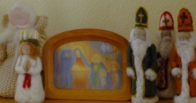 Lucia and Three Wise Men