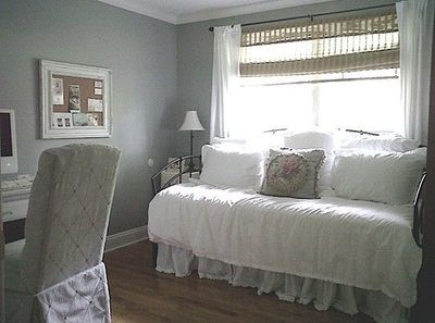 Home Office / Guest Bedroom - Home Office Designs - Decorating Ideas - HGTV Rate My Space-love this idea!