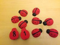 Smiling like Sunshine: Montessori Inspired Ladybird Maths Activity