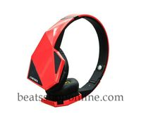 Red And Black Monster Diesel Vektr Over the Ear Headphones Online Store