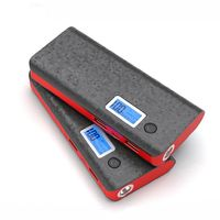 20000mah Mobile Power Bank 2 USB LCD LED 18650 External Backup Battery Portable Charger $49.95