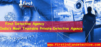 First Detective Agency is a private detective agency in Delhi that provides you with investigation services in each and every part of India. Our roots are old and our team has all the experienced and well-equipped investigators. Contact us: - +9198101864...