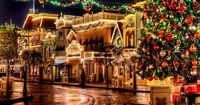 Disney at Christmas - Main Street In my opinion this is the only time to go!!!