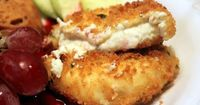 Fried Herb Cheese Cross Section 50s Prime Time Cafe