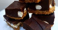 This smore fudge recipe gives you all the things you love about eating a smore in a small bite that is much easier to make than a campfire smore.