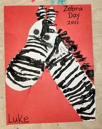 Mrs. Karen's Preschool Ideas: What's Black & White and Red All Over?