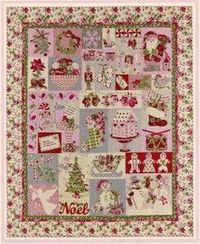 I bit the bullet and invested in this Christmas Quilt pattern...now to find fabric! It dictates something very special and vintage looking.
