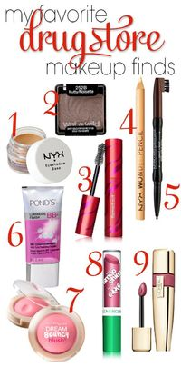 I've gotten a few questions recently about my favorite inexpensive makeup finds. While I obviously have more income now than I did when I was in high school, at