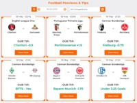 Football Preview And Predictions - TipsPortal