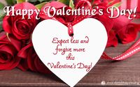Valentine's-Day-2018-2.jpg Expect less, Forgive more this Valentine's Day!  Valentine's Day is celebrated on 14th February every year across the world. On this special day, people celebrate love by spending time with their loved ones. ...