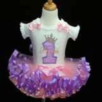 princess first birthday tutu outfit