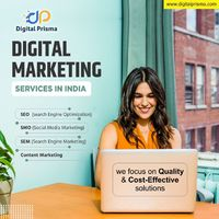 Digital Prisma is one of the best Seo companies in India, believes in building world-class digital experiences that easily metamorphose into offline experiences and help brands tell stories, build communities and transform their business. Our aim for abso...