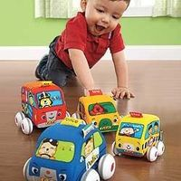 Baby Pull-Back Car Toys