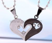 Gullei.com Personalized Engraved Gift For Valentine Couple Necklaces Set for 2  https://www.gullei.com/couples-gift-ideas/matching-couple-necklaces.html