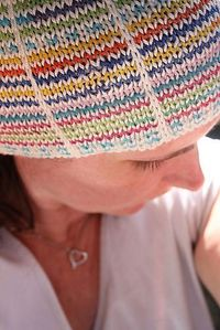 Ravelry: With a Brim pattern by Kelly Brooker