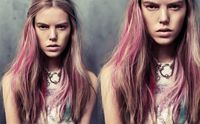 To coincide with our Wash Shop this week we thought we'd show you some color-washed hairstyles we love lately. Dip dying your hair has been a running trend for