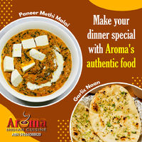 Make your dinner special with aroma's authentic food! Pickup / Delivery on http://www.aromaindian.com.au/