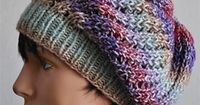 Treasure Slouch Hat By Cathy Campbell - Free Knitted Pattern - (ravelry)