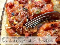 Roasted Eggplant and Tomatoes. This looks yummy!!