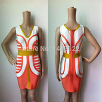 Fashion Plus Size Bodycon Bandage Dress For Women