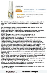 Funny liquid ass spray review #funny #humor #funnyReview #funnypicture #PMSLweb