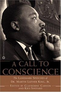 """This collection includes the text of Dr. King's best-known oration, """"I Have a Dream, """" his acceptance speech for the Nobel Peace Prize, and """"Beyond Vietnam, """" a compelling argument for ending the ongoing conflict. Each speech has..."""